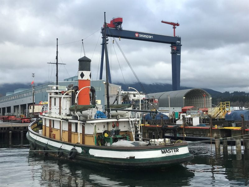 S.S. Master steam tugboat - ASI Group